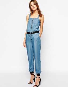 8bf3b25fcf4f Warehouse Zip Front Jumpsuit