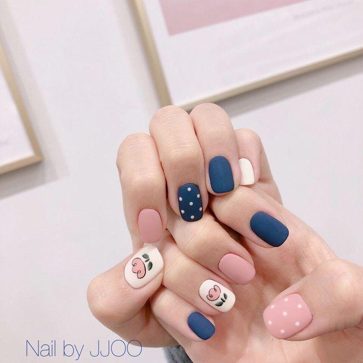 Nail Korea Nails Nailart Nailartdesigns Swag Nails Manicure Nail Designs