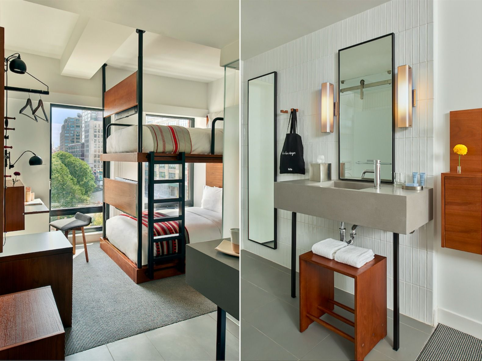 "America\'s ""first micro hotel with 4-star design"" packs big style ..."
