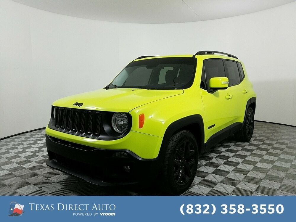 For Sale 2017 Jeep Renegade Altitude Texas Direct Auto