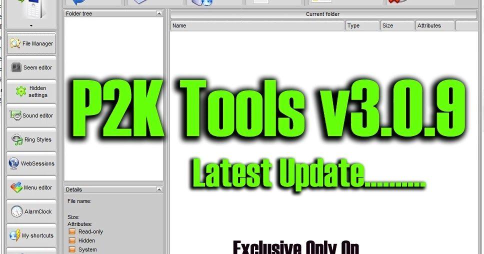 new p2k tools