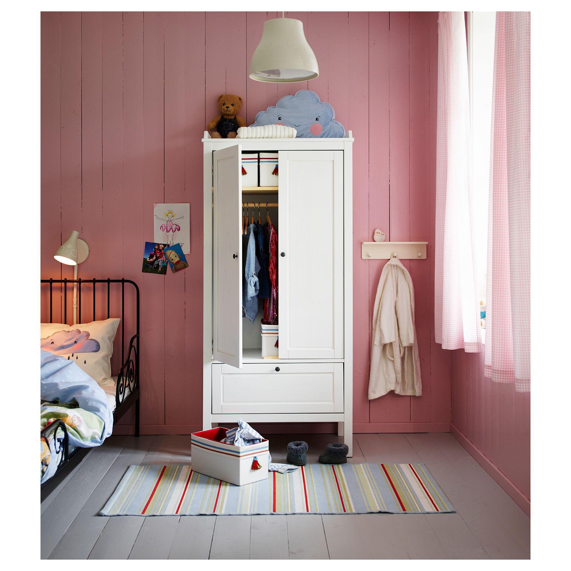 IKEA SUNDVIK Wardrobe white Ikea childrens bedroom