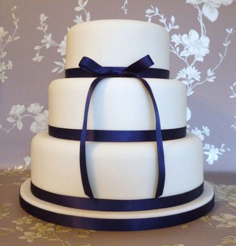 Simple But Elegant Wedding Cakes - you can even buy pre ...