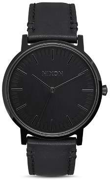 Nixon Porter Watch, 40mm - Black #luxurywatches