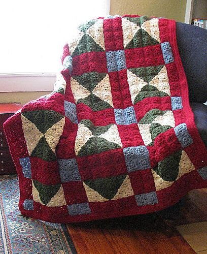 Looks like an old fashioned quilt. | Crochet I Love | Pinterest ... : crocheted quilts - Adamdwight.com