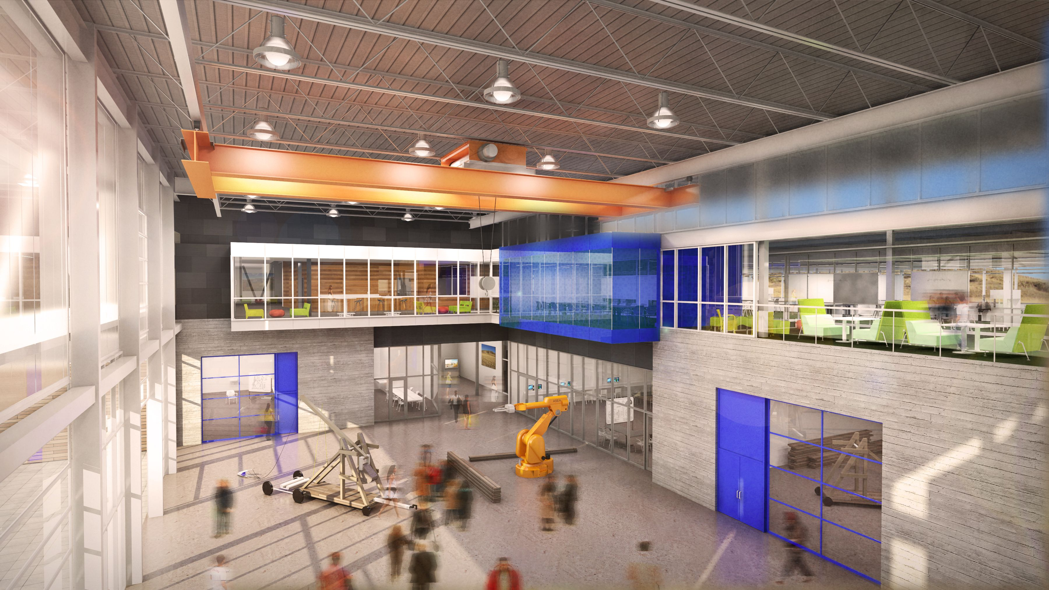 New High School Campus for Natrona County Schools in Casper, WY ...