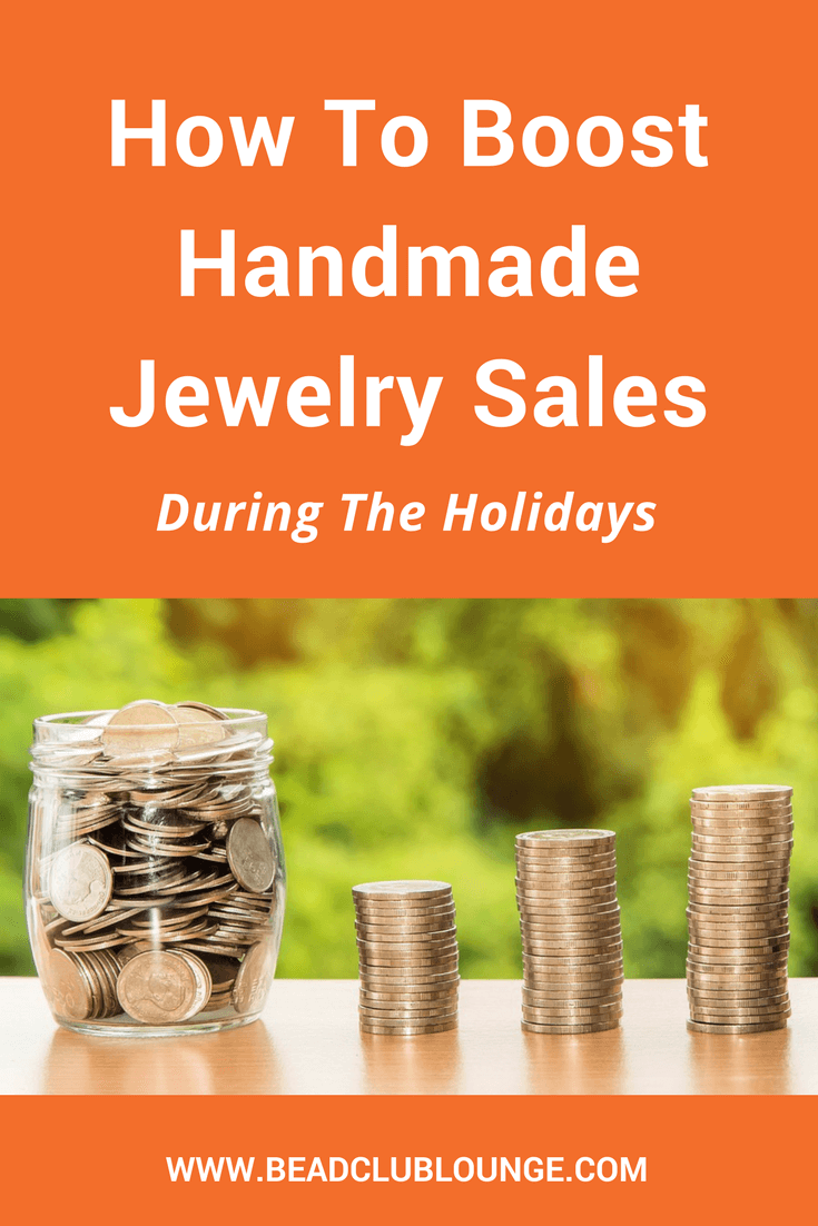 How To Boost Handmade Jewelry Sales During The Holidays - Handmade jewelry, Jewelry sales, Diy jewelry, Precious jewelry, Sell handmade, Amber jewelry - Crafts make great gifts  If you want to make money selling handmade jewelry during the holidays, here are some simple tips to increase your sales
