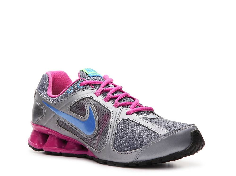 Grade School  654430 001 Black Silver Nike Girls/' Reax Run 9 Running Shoes