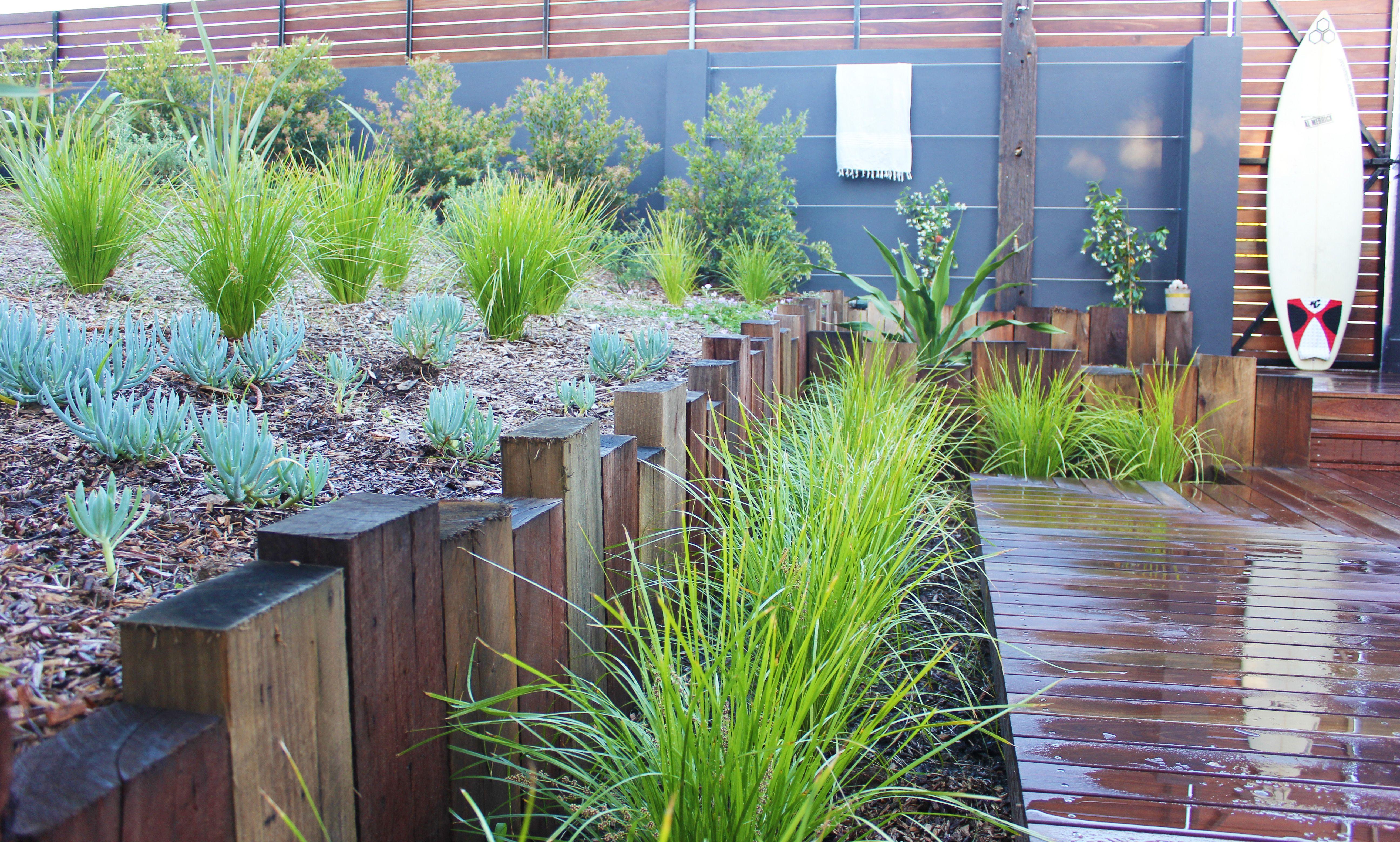 Newport Garden, Landscape, Landscape Design, Outdoor Shower, Garden, Beach  Side,