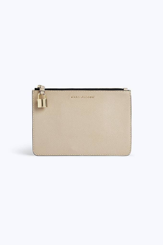 The Grind Standard Continental Wallet in Light Slate Cow Leather Marc Jacobs QWDFQe5r5w