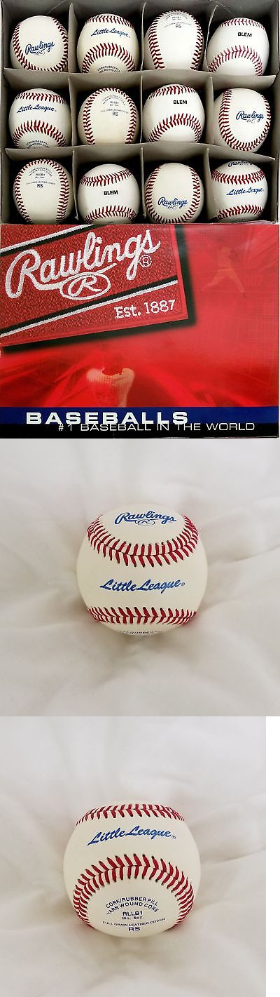 Baseballs 73893: Rawlings Little League Rllb-1 Blem 9 Inch