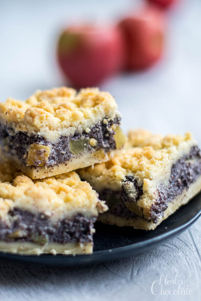 Photo of Fast wie bei Oma: Saftiger Apfel-Mohnkuchen mit Zitrone – Herbs & Chocolate