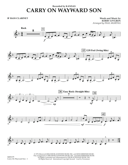 Image Result For Carryon My Wayward Son Clarinet Qoutes And Music