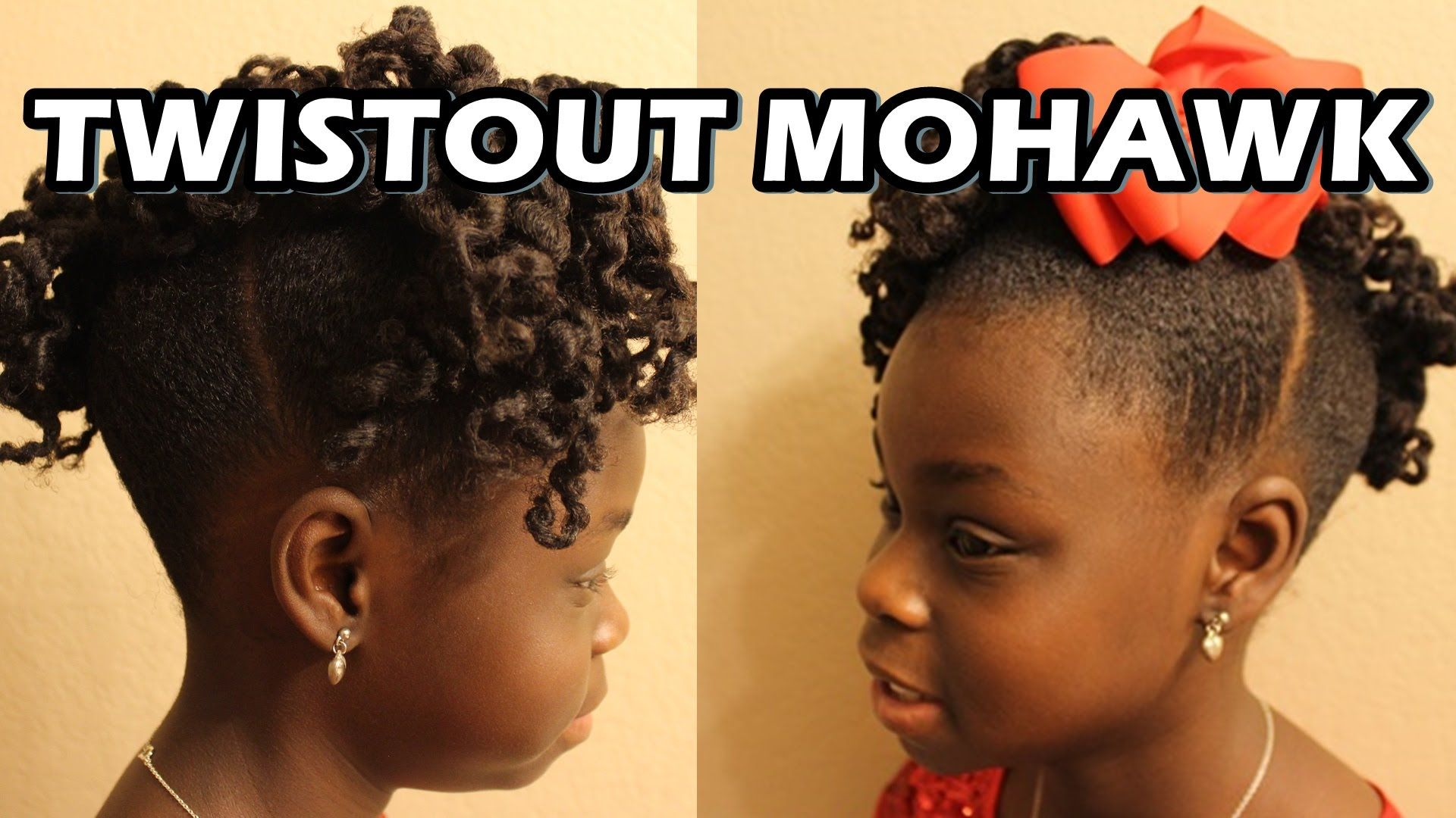 Twistout mohawk natural hair auniyah lebree pinterest mohawks