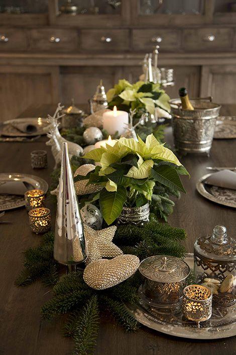 Ideen für eine weihnachtliche Tischdeko #weihnachtsdekobalkon