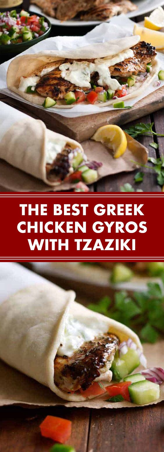 ★★★★★ 79 reviews:The Best Greek Chicken Gyros with Tzaziki | The mar…