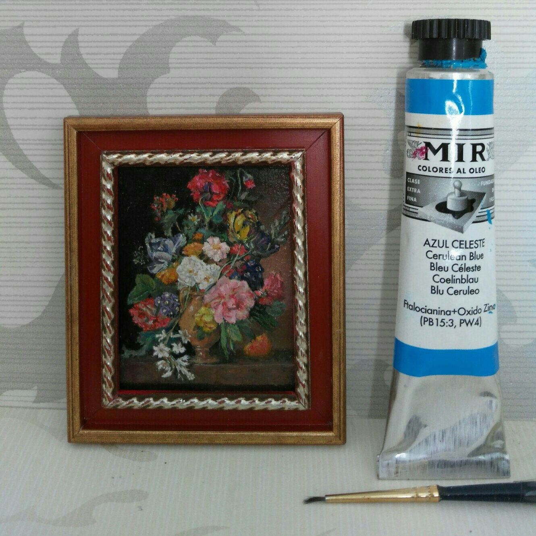 Versión Mini pintada al óleo de \