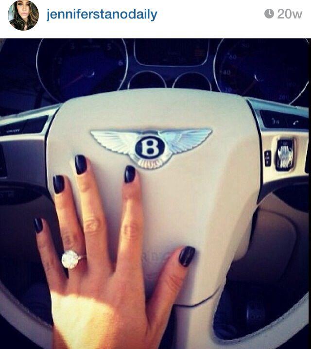 Jennifer Stano wedding ring Bling Pinterest Weddings and
