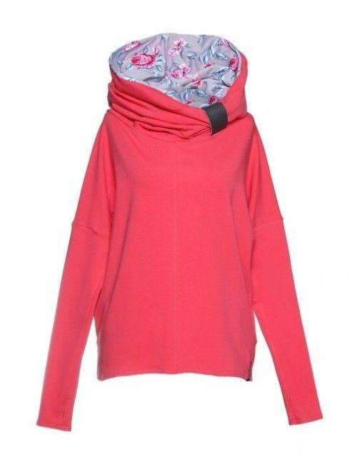 Bluza Z Kominem Prostym Nubee Showroom Fashion Sweatshirts Sweaters