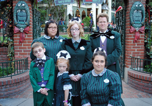 Haunted Mansion Cast Members Have The Best Outfits Hence They Make Some Of The Bes Haunted Mansion Costume Cool Halloween Costumes Haunted Mansion Halloween