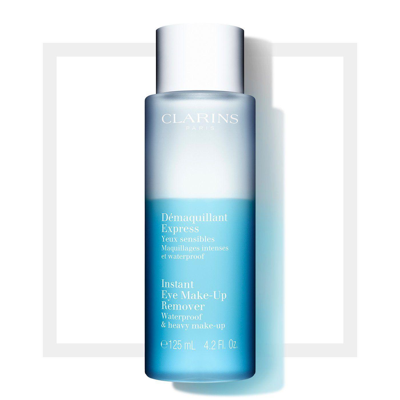 Clarins Reiniger und Toner Instant Augen-Make-Up-Entferner 125ml Wasserfestes & schweres Make-Up