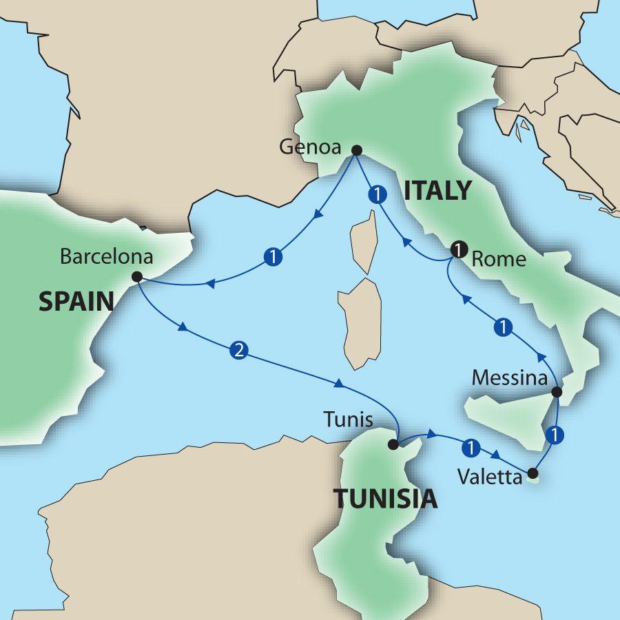 Cruise To Western Mediterranean Best Cruise 2017