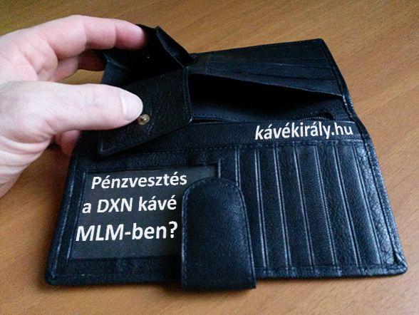 Lehet-e pénzt veszíteni a DXN gyógykávé MLM üzletben?