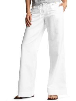 petite linen pants - Pi Pants