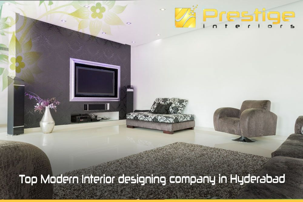 TV wall units for your living room #Prestige Interiors hyderabad ...
