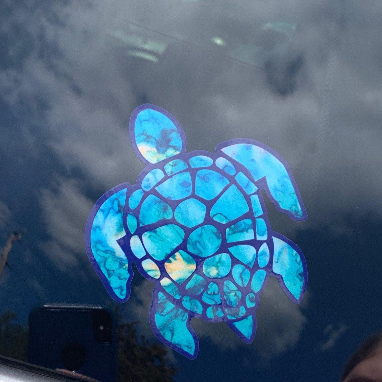 Car Decal Yeti Decal Sea Turtle Decal Decal For Women Etsy Sea Turtle Decal Decals For Yeti Cups Yeti Decals [ 1242 x 1242 Pixel ]