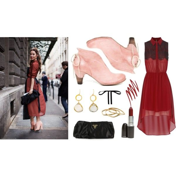 """""""Get the look: Ulyana Sergeenko's Street Style"""" by bulo-shoes on Polyvore"""