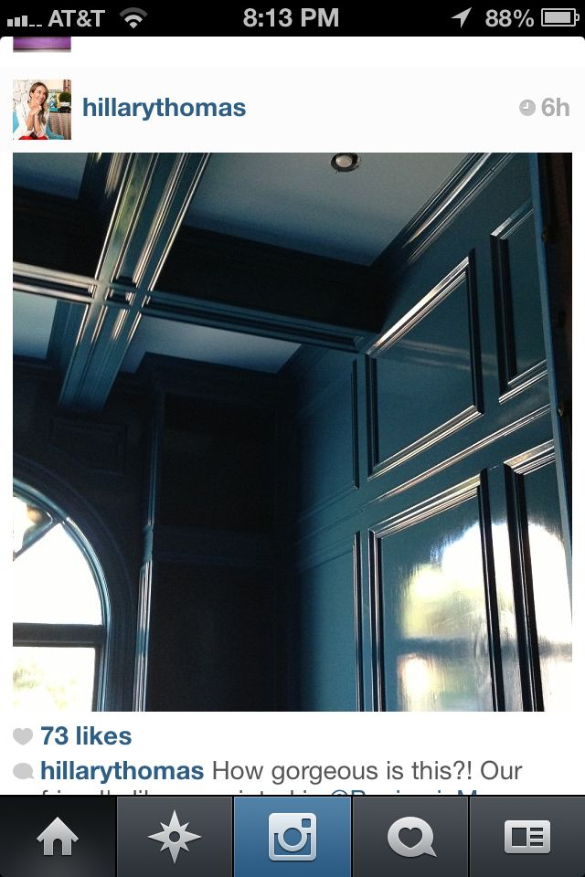 Paint Color Benjamin Moore High Gloss Slate Teal