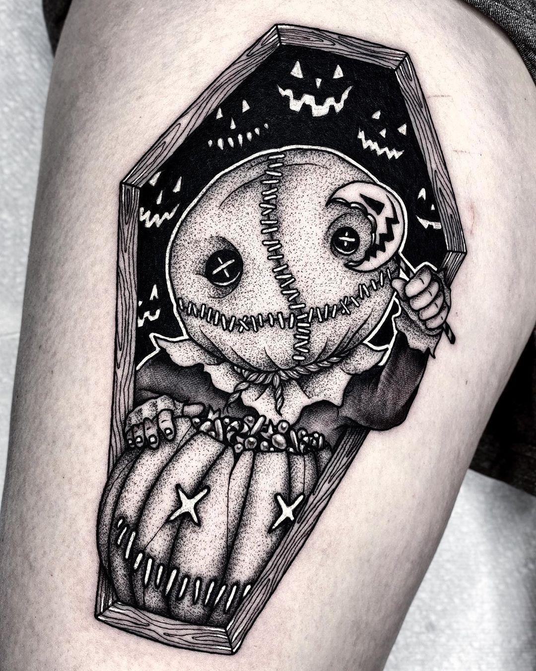 Halloween Tattoos by Angelo Parente