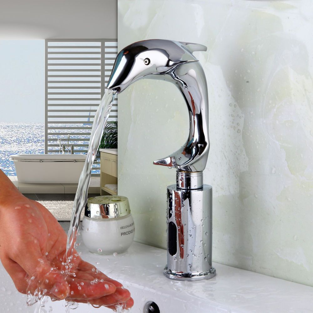 Hands Free Automatic Touch Free Sensor Control Bathroom Sink Tap ...
