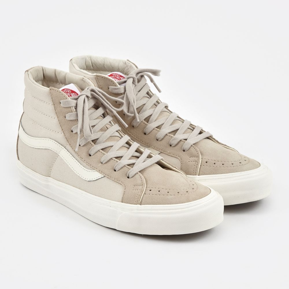 8adc8b71a99 Vans Vault OG Sk8-Hi LX - Feather Grey Moonbeam (Image 1)