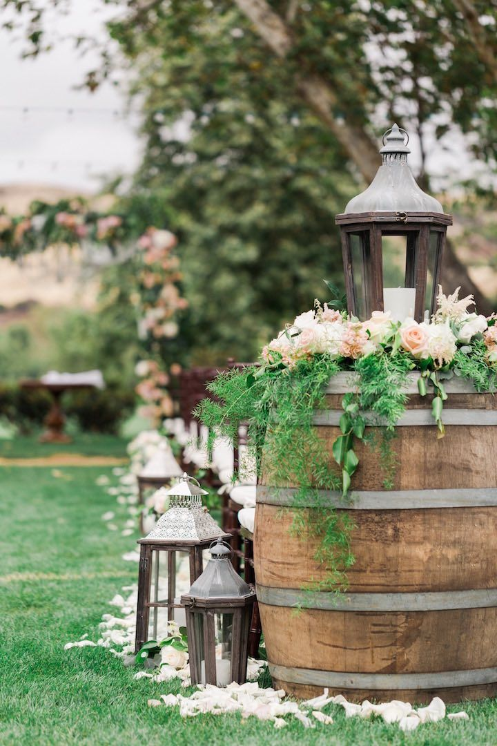This California Wedding Is Pinterest Wedding Goals #ceremonyideas