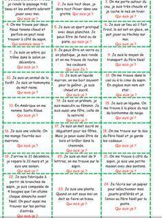 Quizz Drole Avec Reponse A Imprimer : quizz, drole, reponse, imprimer, Devinettes, Calendrier, L'avent, L'avent,, L'avant,, Maternelle