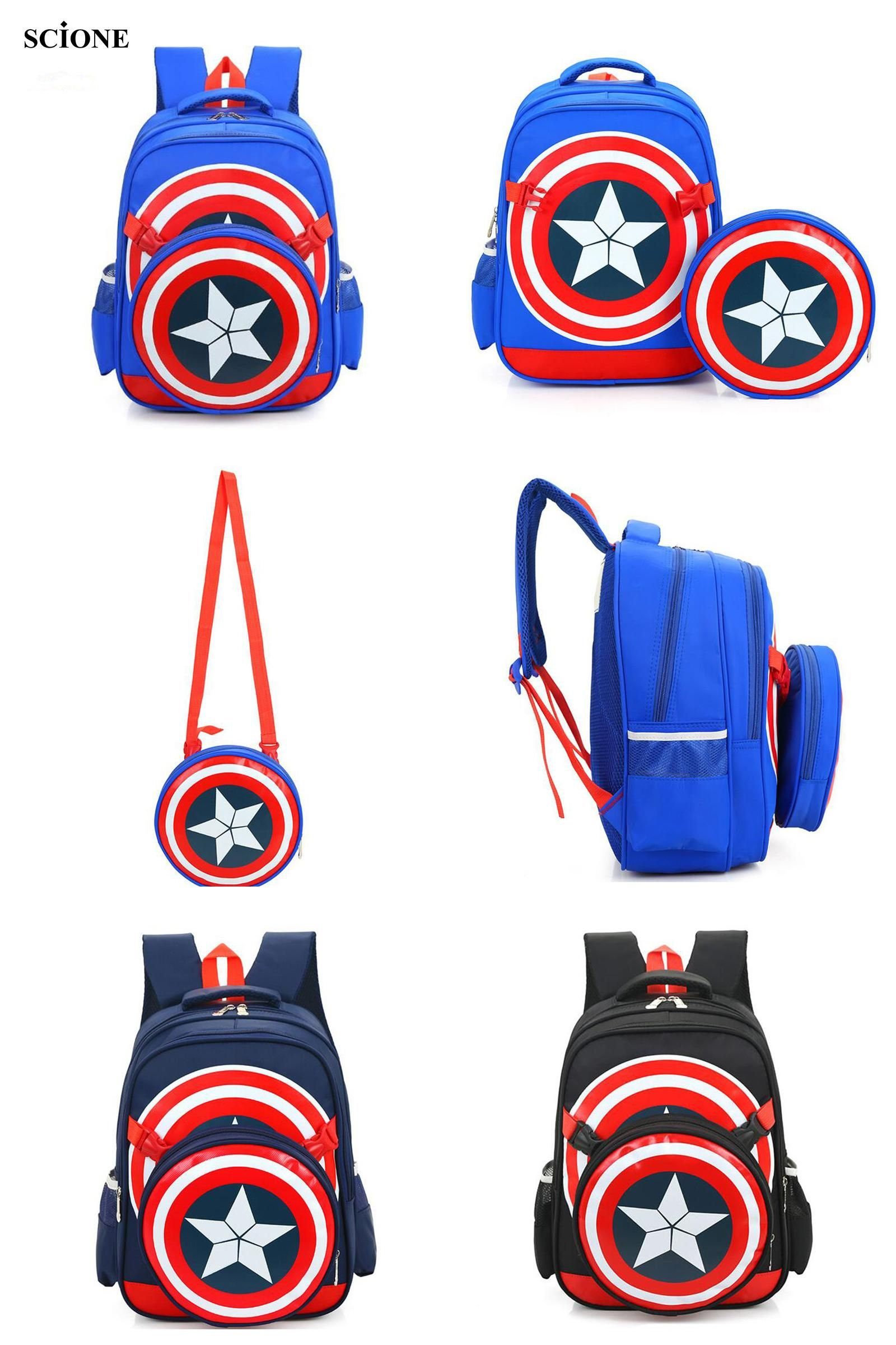 19bae819ce2f  Visit to Buy  new school backpacks avengers captain america cartoon style  schoolbags for kids