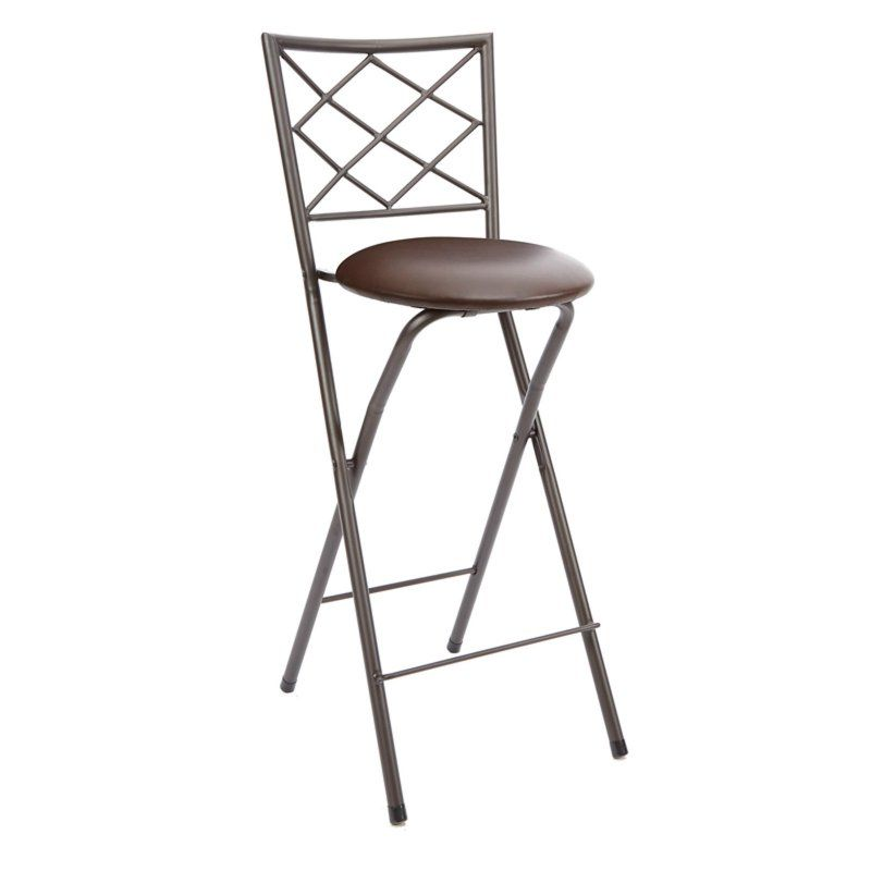 Groovy Mainstays Cheyenne Diamond X Back Folding 30 In Bar Stool Spiritservingveterans Wood Chair Design Ideas Spiritservingveteransorg