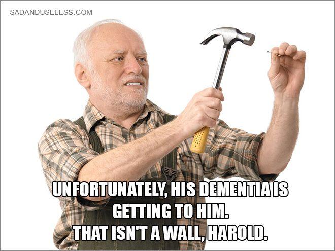 Pain Harold Smiling Man Meme