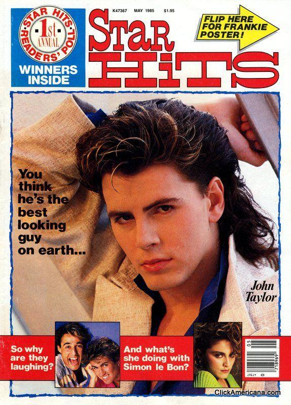 Star Hits magazine covers (1984, 1985, 1988