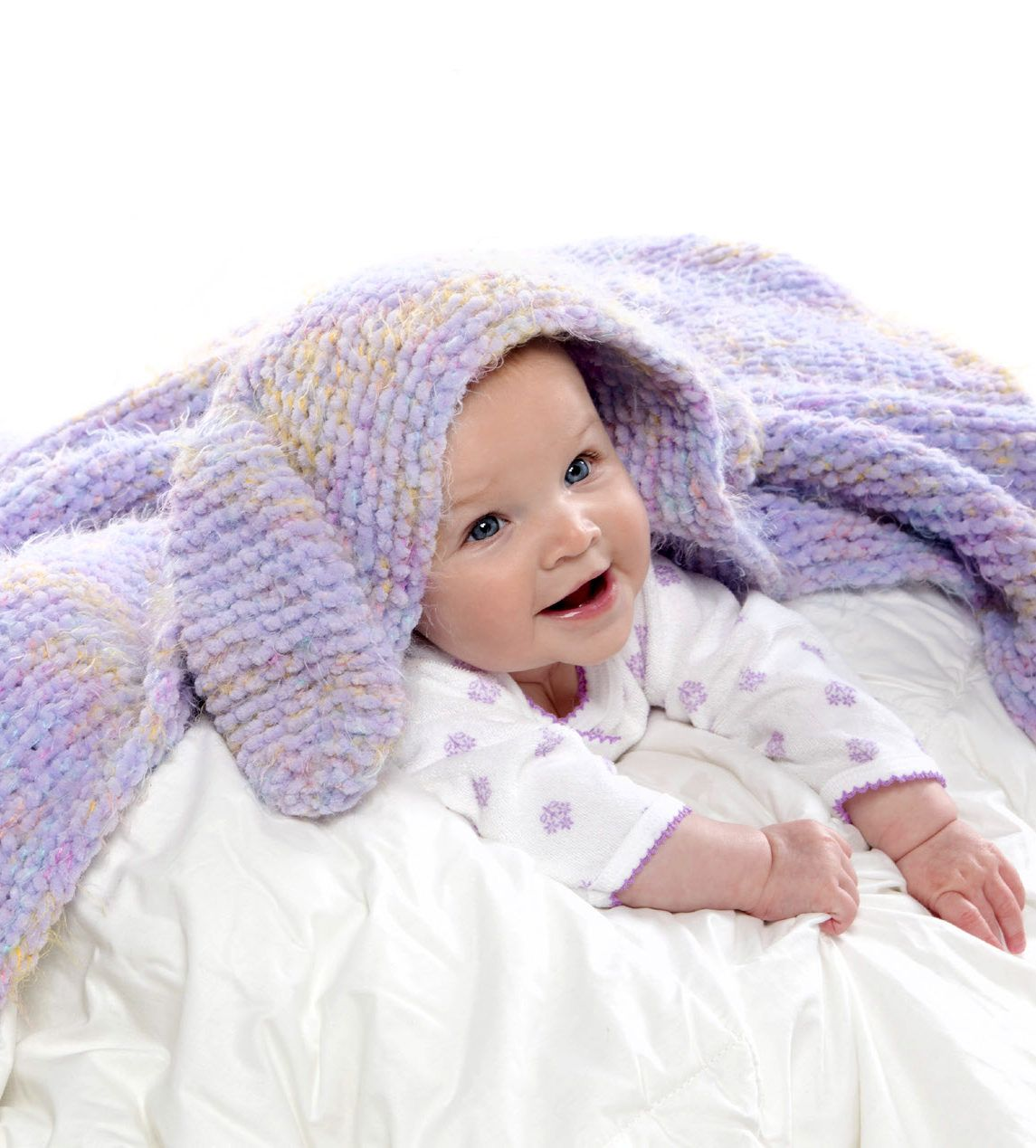 Free Knitting Pattern for Snuggle Bunny Blanket - Hooded blanket ...