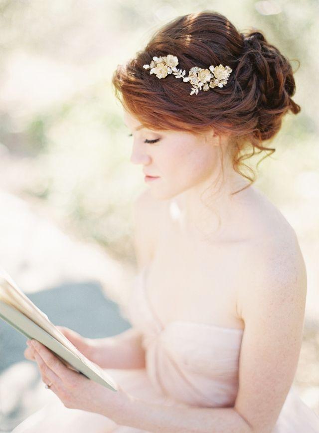 Wedding Hair Bruiloft Haar Trouwkapsels Kapsel Bruid