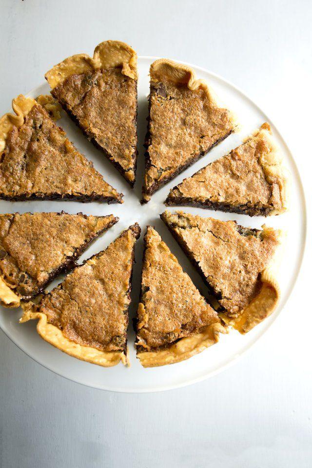 Bourbon Tollhouse Pie | Talia Bunting