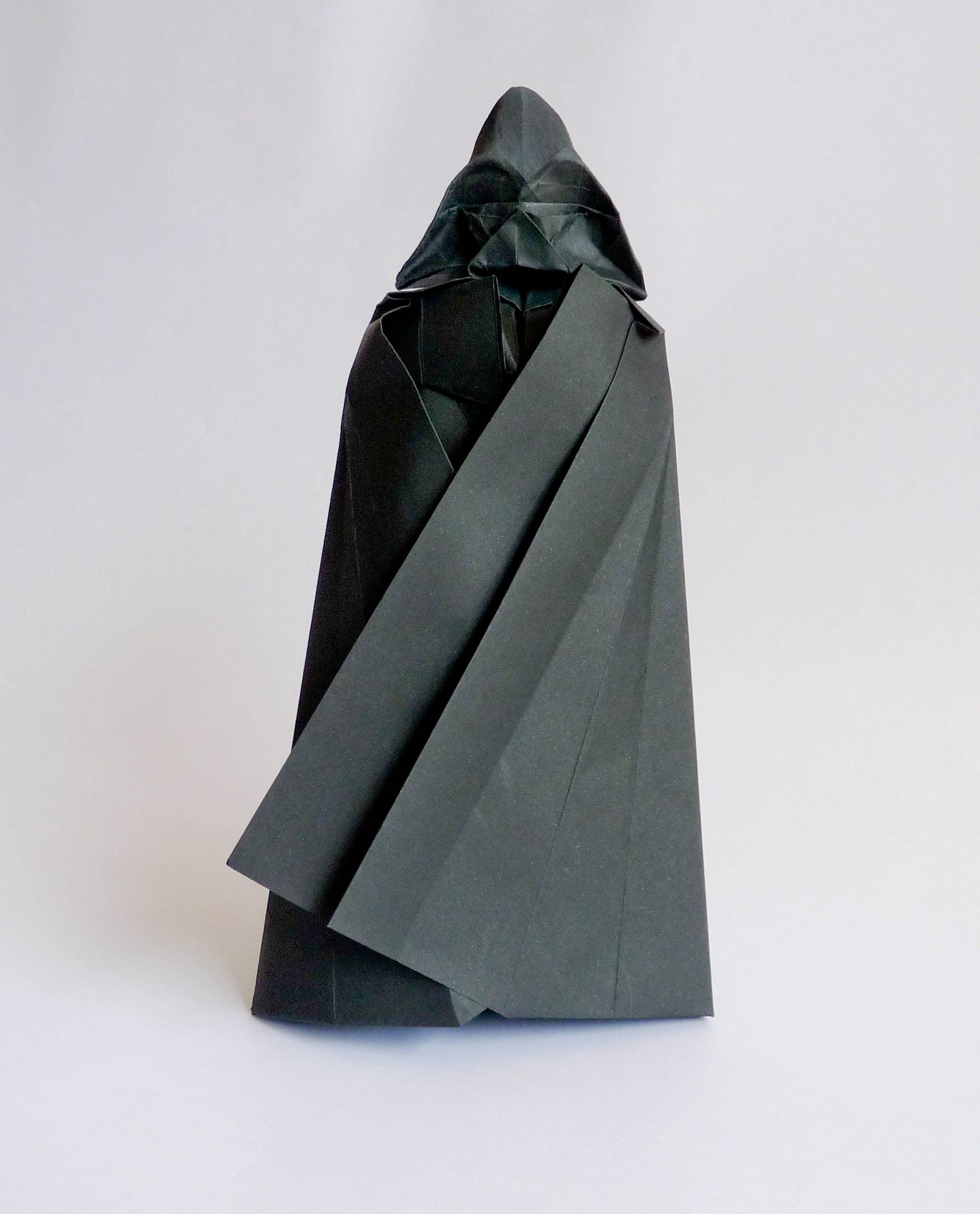 origami Darth Vader tutorial … | Origami | Origa… - photo#15