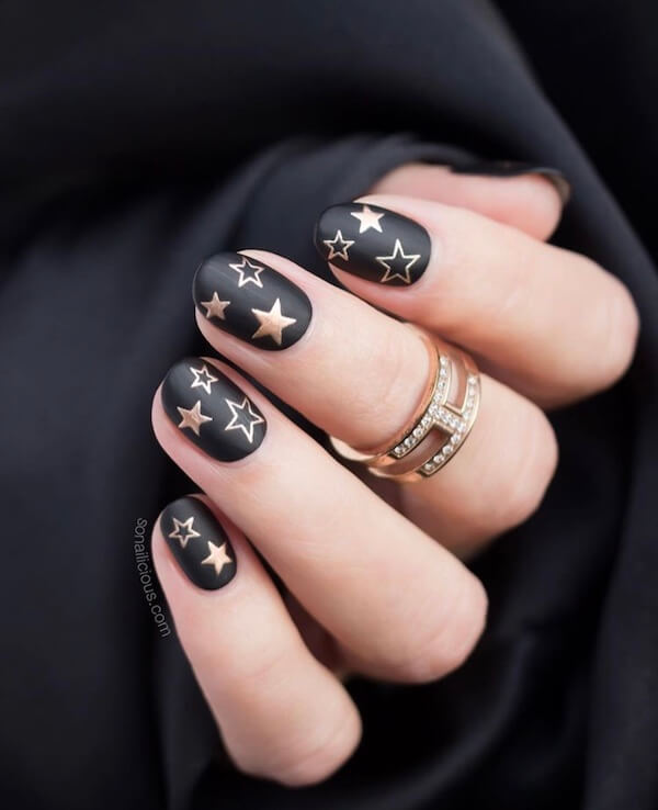 36 popular trendy nail types for you in the 2019 Fall