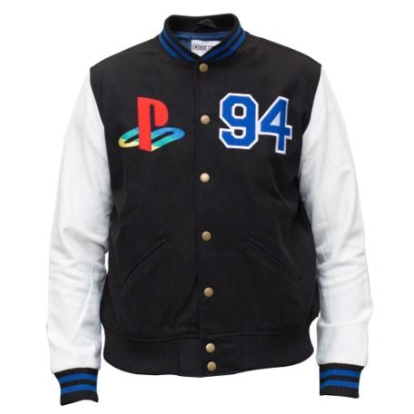 PlayStation®Gear PlayStation® Black Varsity Jacket