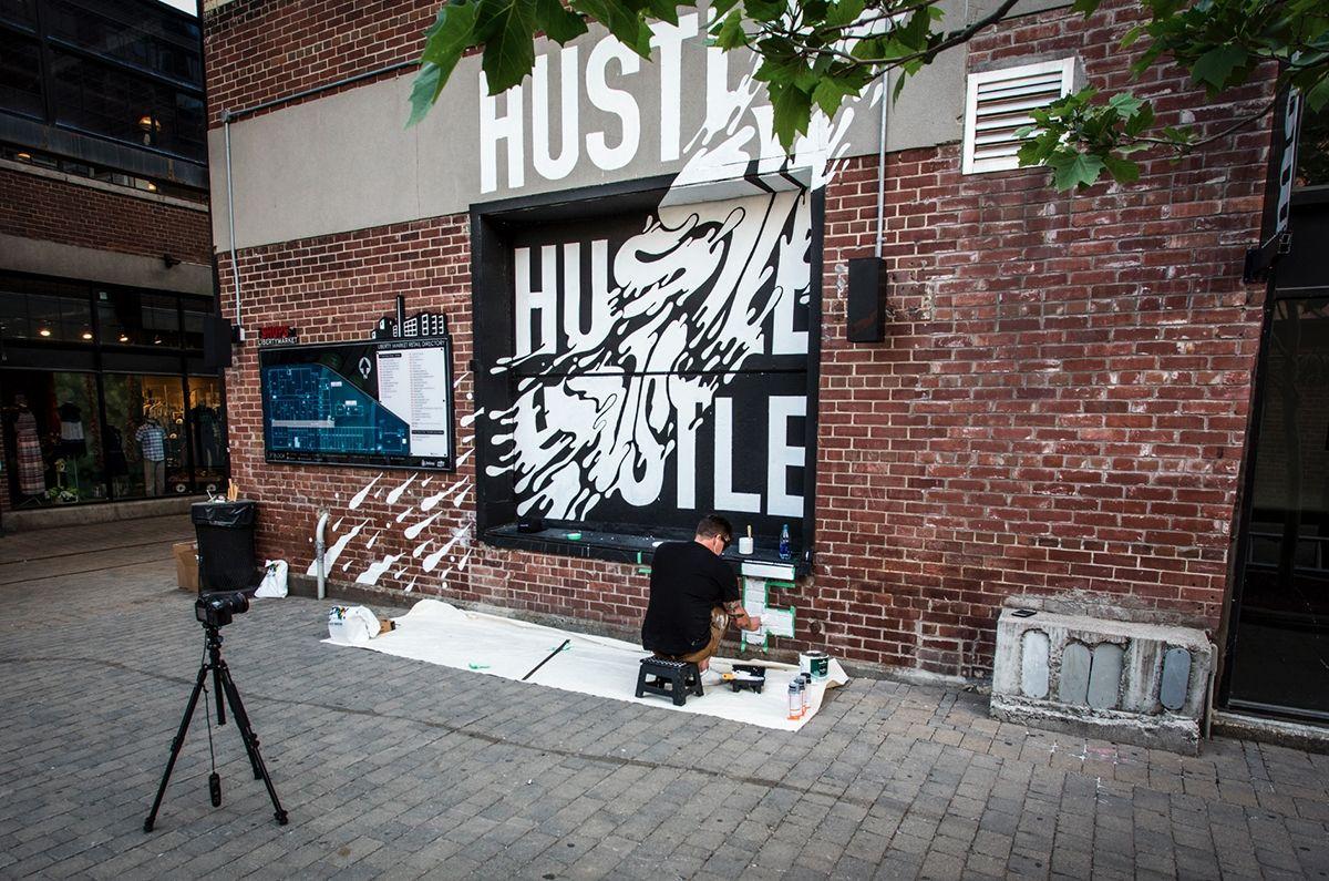 http://evasee.com/2016/08/07/Benjamin-Johnston #mural #typo #graphics #benjaminjohnston #evasee