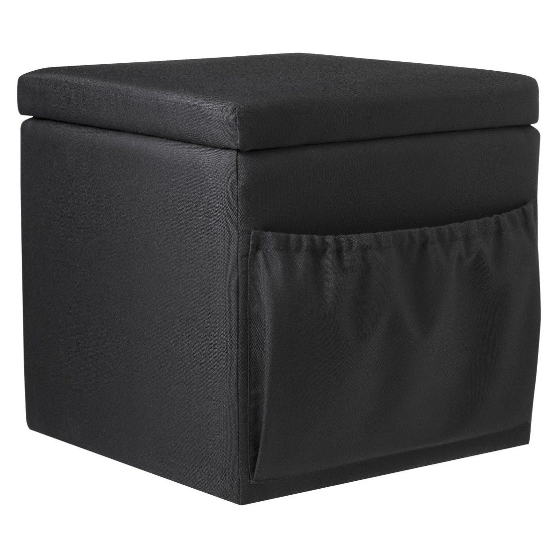 Fabulous Cheap 20 Dollar Storage Ottoman With Pocket Black From Ocoug Best Dining Table And Chair Ideas Images Ocougorg