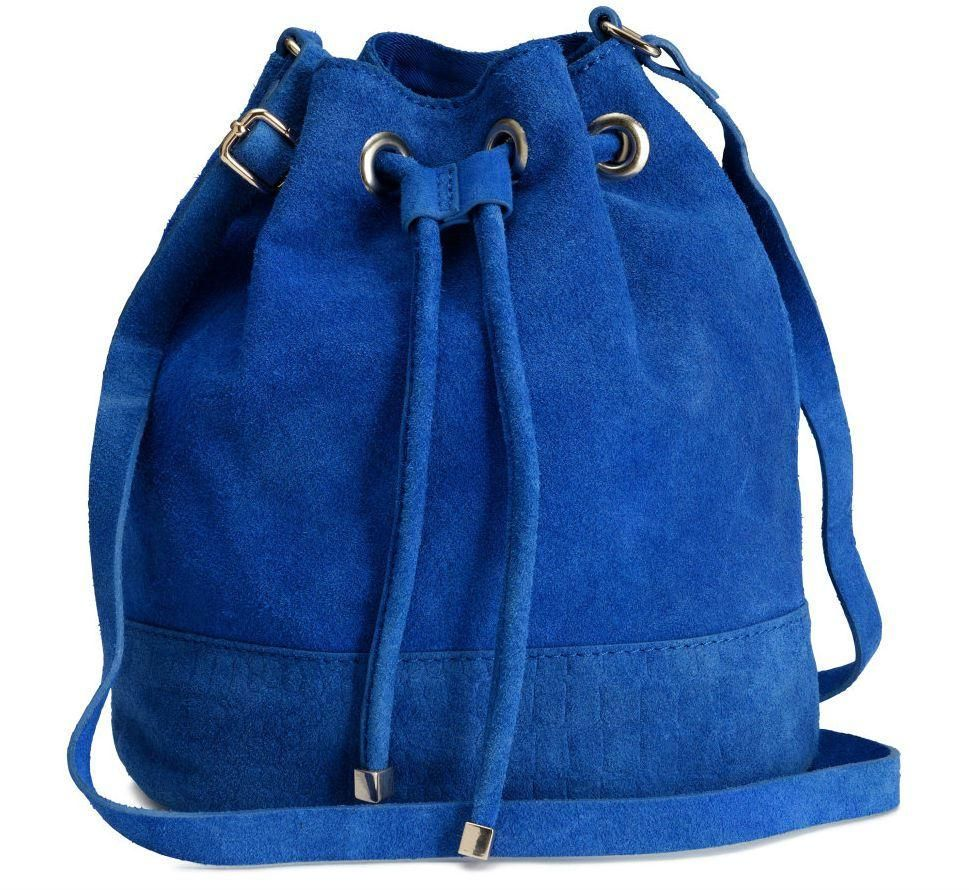 7164ffbf98c8 Editor s Pick  The Coolest Suede Bucket Bag—For Under  40